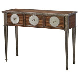 Patten Distressed Walnut Console Table
