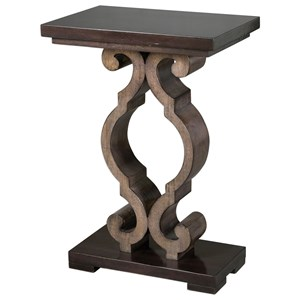 Uttermost Accent Furniture Parina Ebony Accent Table