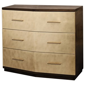 Uttermost Accent Furniture Verdura Brushed Gold Accent Chest