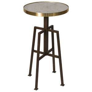 Uttermost Accent Furniture Gisele Round Accent Table