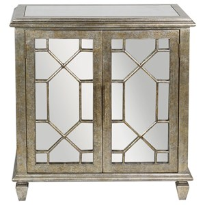 Uttermost Accent Furniture Panaro Golden Bronze Accent Cabinet