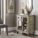 Uttermost Accent Furniture Panaro Golden Bronze Accent Cabinet