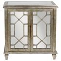 Uttermost Accent Furniture Panaro Golden Bronze Accent Cabinet - Item Number: 25993