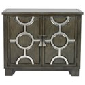 Uttermost Accent Furniture - Chests Caine Charcoal Accent Cabinet - Item Number: 25994