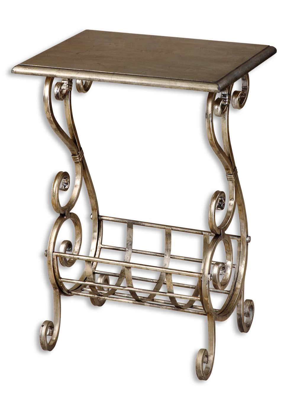 Uttermost Accent Furniture Lilah Magazine Table - Item Number: 26117