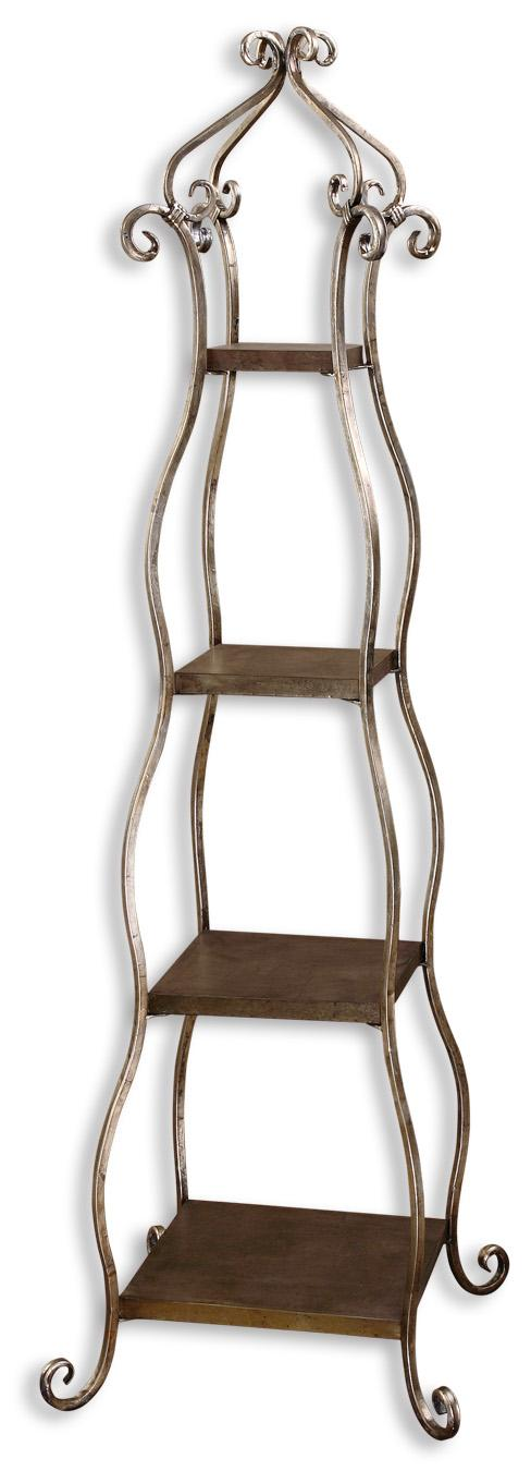Uttermost Accent Furniture Lilah Etagere - Item Number: 26118