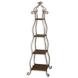 Uttermost Accent Furniture Lilah Etagere