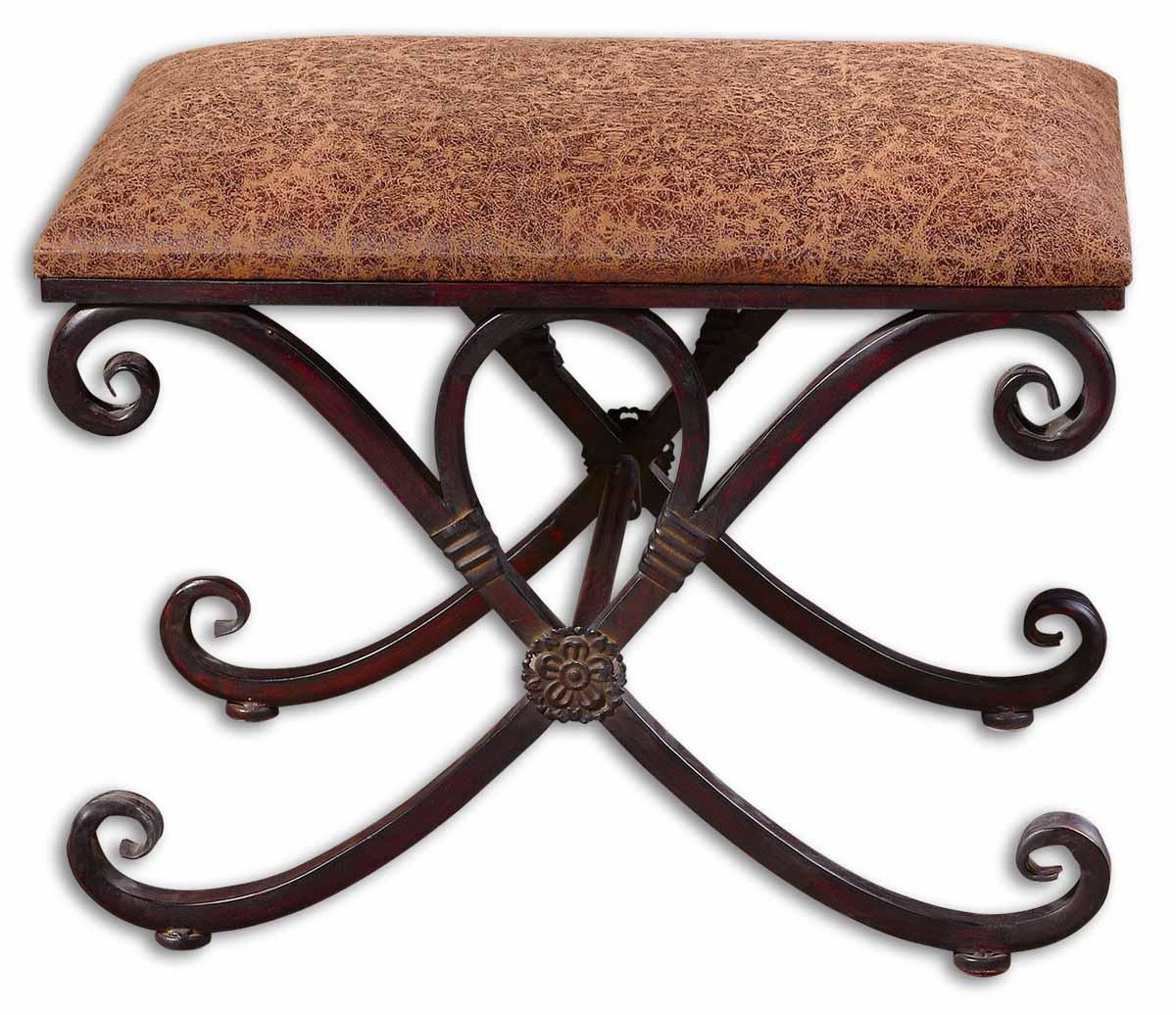 Uttermost Accent Furniture Manoj Small Bench - Item Number: 26122