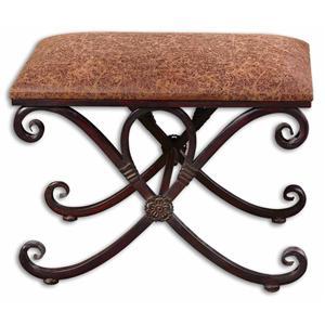 Uttermost Accent Furniture Manoj Small Bench