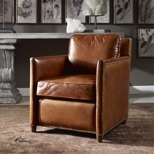 Uttermost Accent Furniture Roosevelt Club Chair