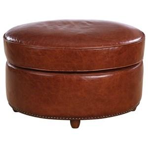 Uttermost Accent Furniture Roosevelt Oval Ottoman