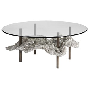 Uttermost Accent Furniture Zuberi Driftwood Coffee Table