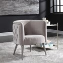 Uttermost Accent Furniture - Accent Chairs Haider Tufted Accent Chair