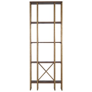Karishma Antique Gold Etagere