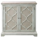 Uttermost Accent Furniture - Chests Sophie Sea Grey 2 Door Cabinet - Item Number: 24872