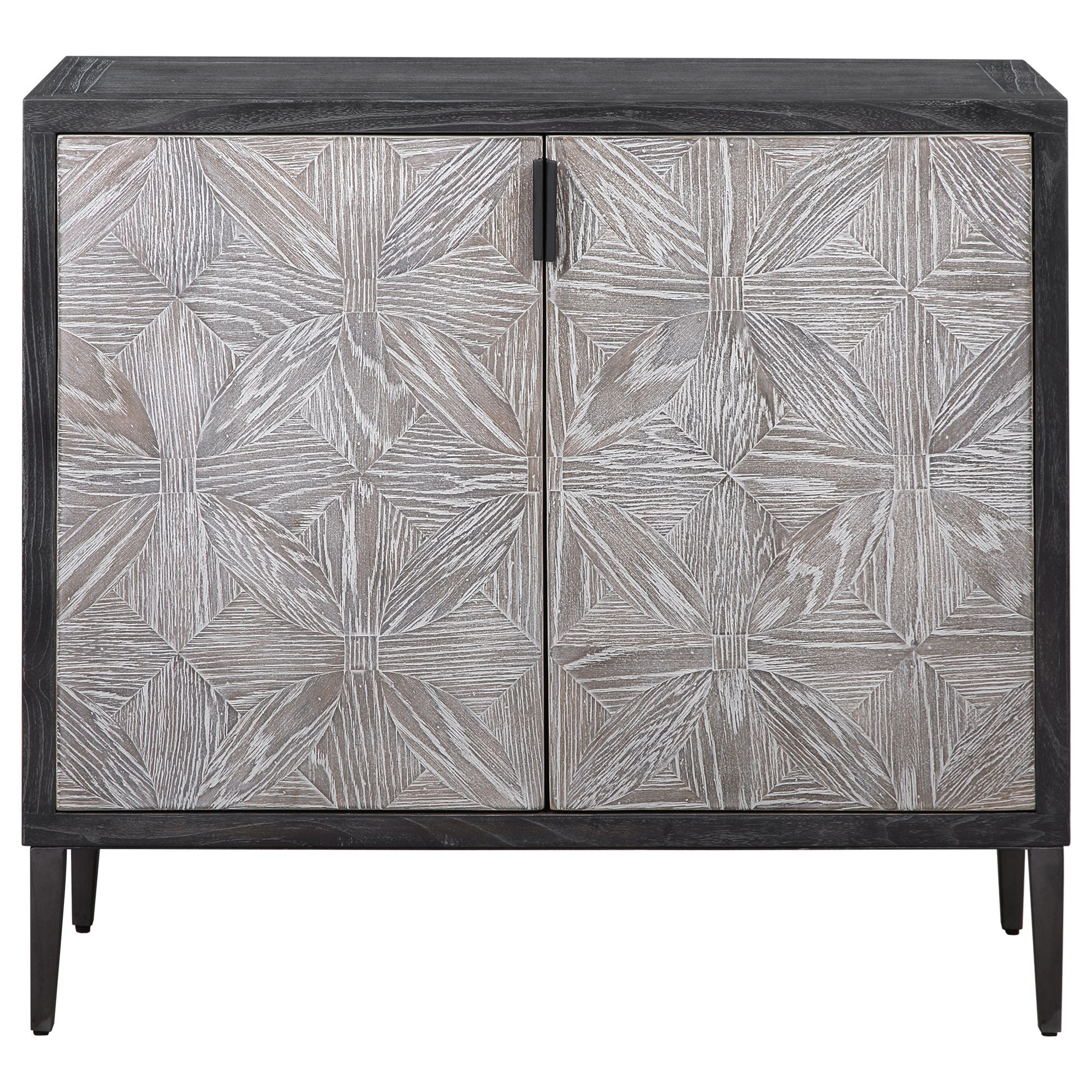 Accent Furniture - Chests Laurentia 2 Door Accent Cabinet by Uttermost at Dream Home Interiors