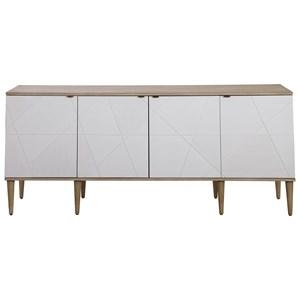 Tightrope 4-Door Modern Sideboard Cabinet