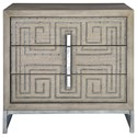 Uttermost Accent Furniture - Chests Devya Gray Oak Accent Chest - Item Number: 25369