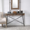 Uttermost Accent Furniture - Occasional Tables Ryne Industrial Console Table