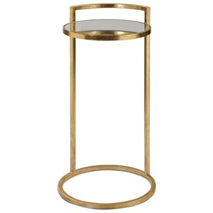 Cailin Gold Accent Table