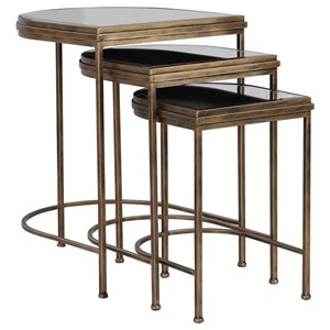 India Nesting Tables, Set/3
