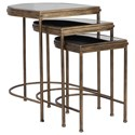 Uttermost Accent Furniture - Occasional Tables India Nesting Tables, Set/3 - Item Number: 24908