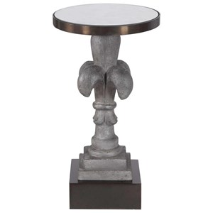 Francois Concrete Accent Table