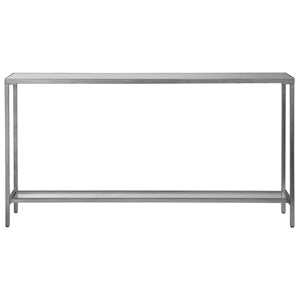 Hayley Silver Console Table