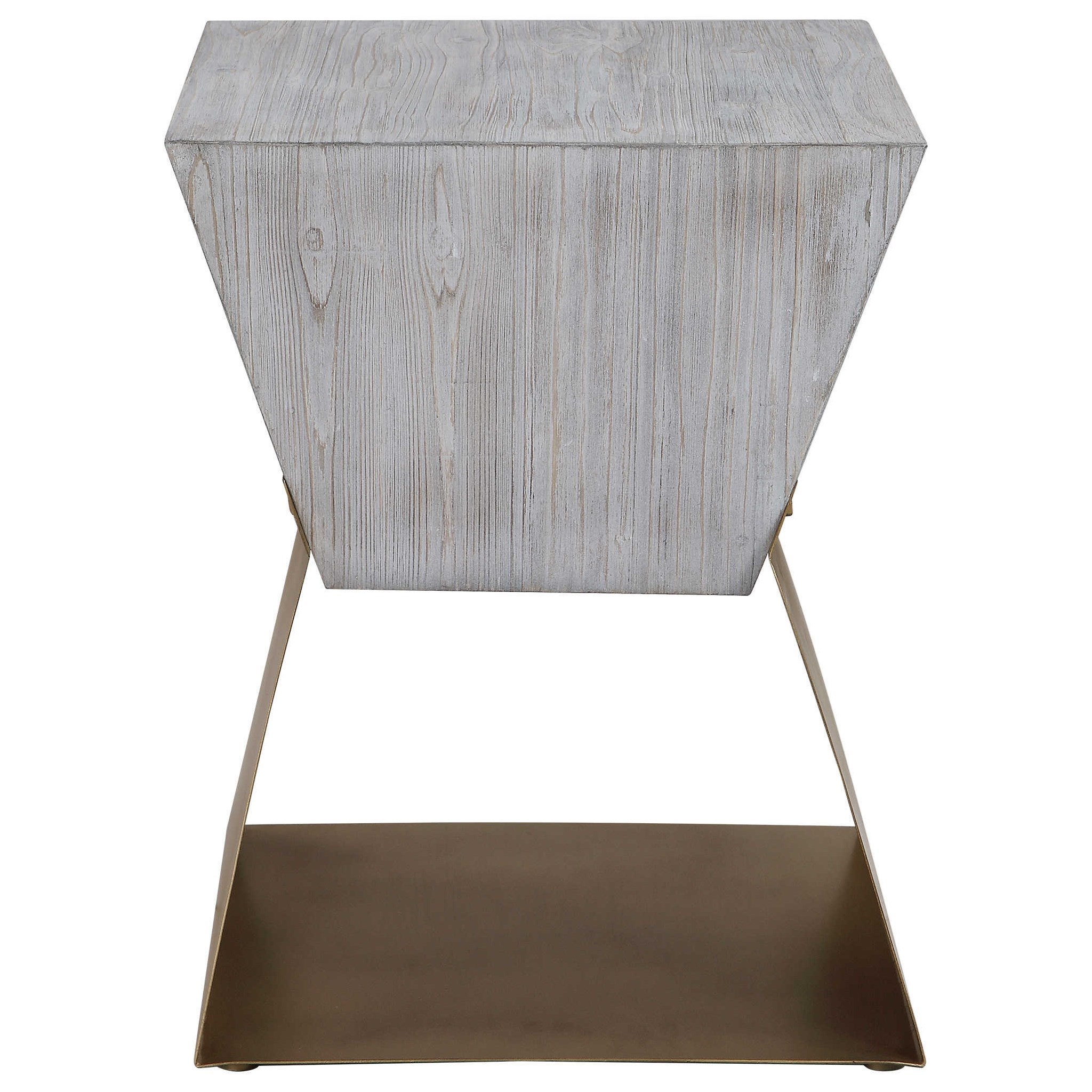 Joplin Gray Accent Table