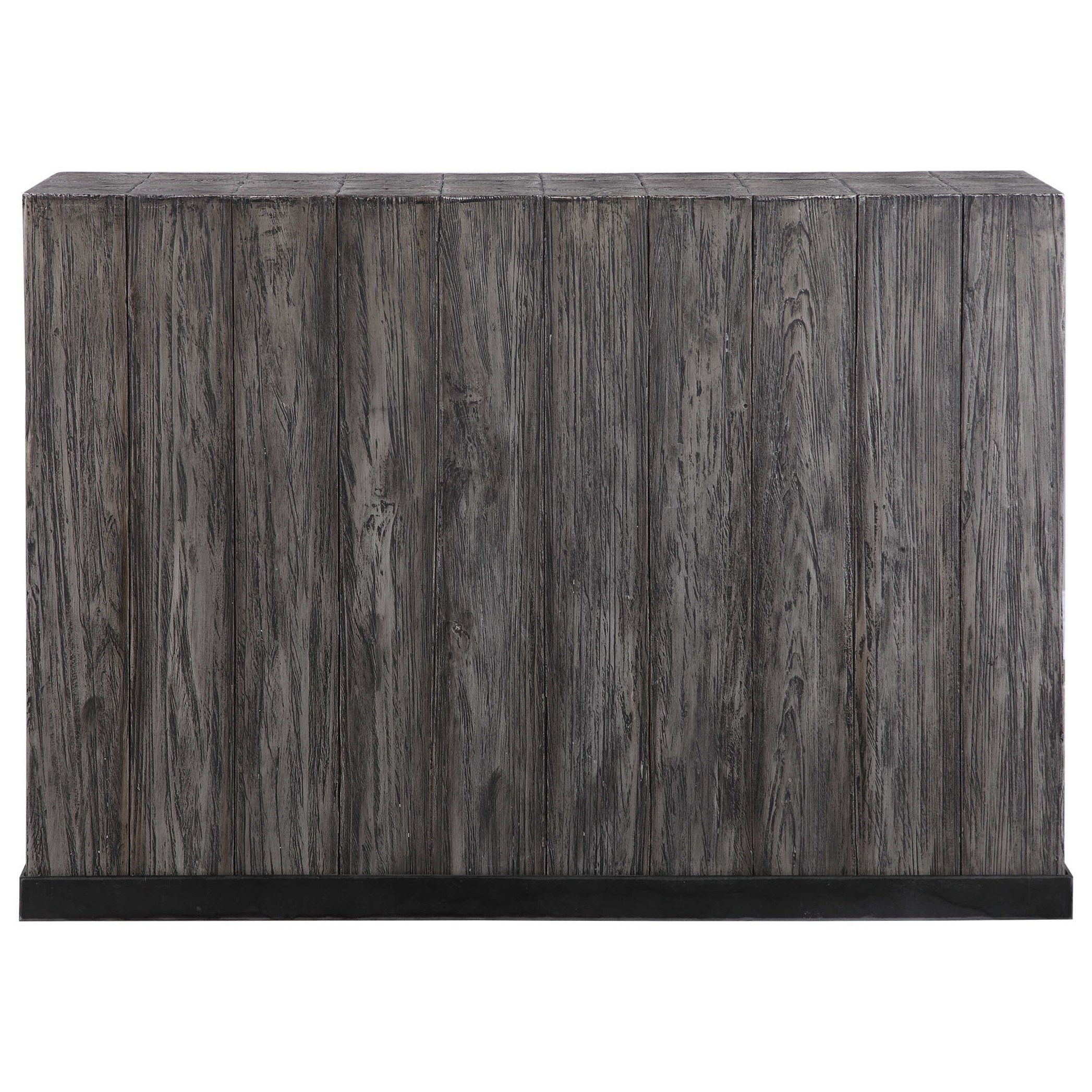 Accent Furniture - Occasional Tables Latham Reclaimed Wood Console Table by Uttermost at Factory Direct Furniture