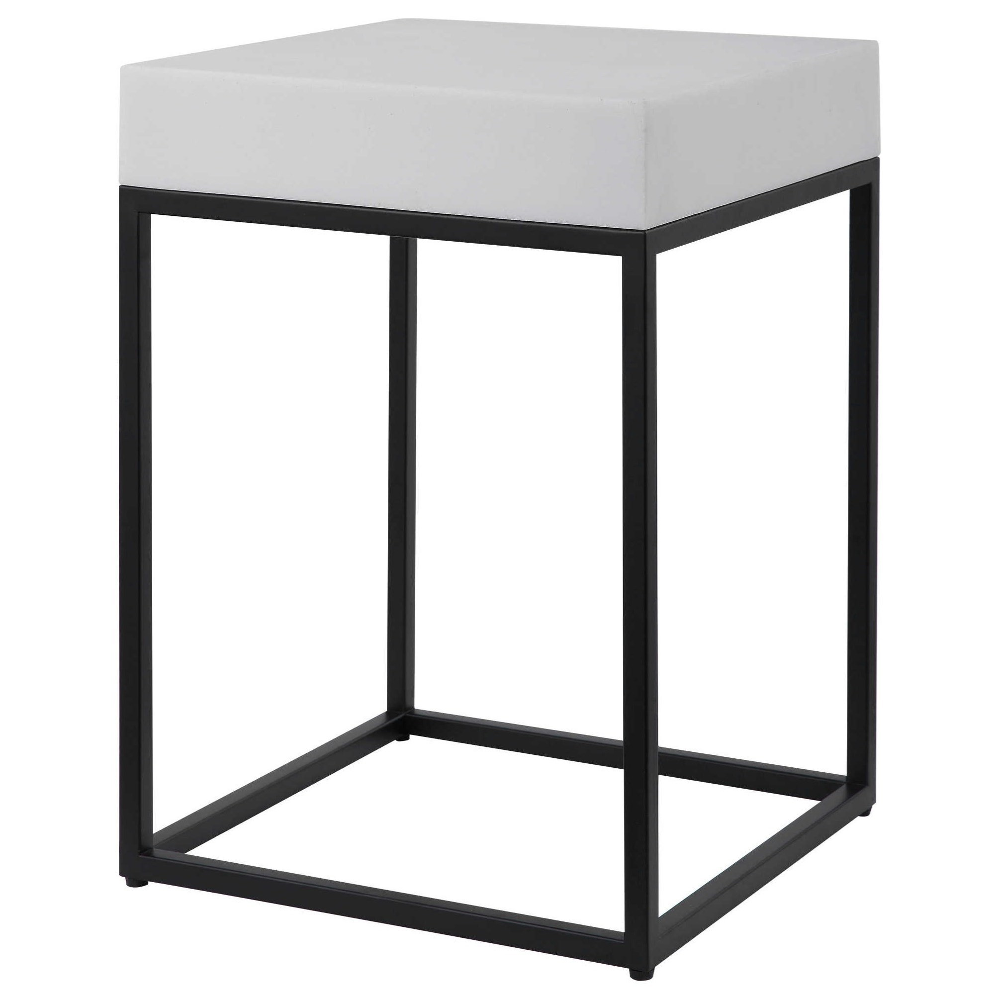 Accent Furniture - Occasional Tables Gambia Marble Accent Table by Uttermost at Del Sol Furniture