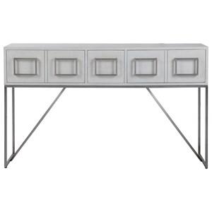 Abaya White Console Table