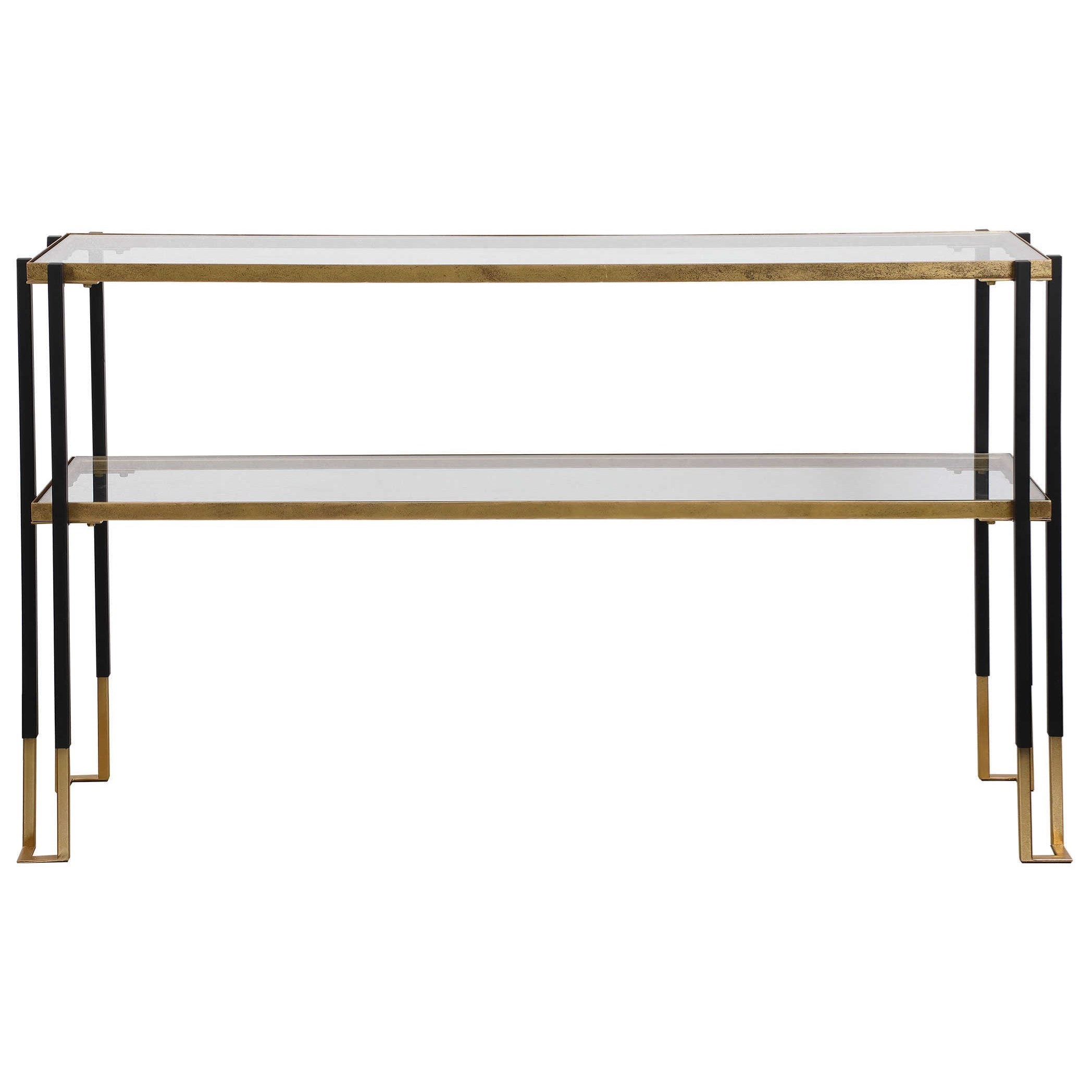 Accent Furniture - Occasional Tables Modern Console Table by Uttermost at Reid's Furniture