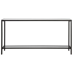 Hayley Black Console Table