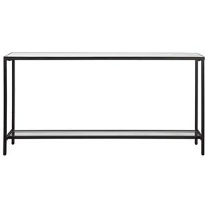Hayley Black Console Table