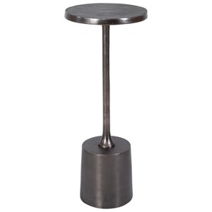 Sanaga Drink Table Nickel