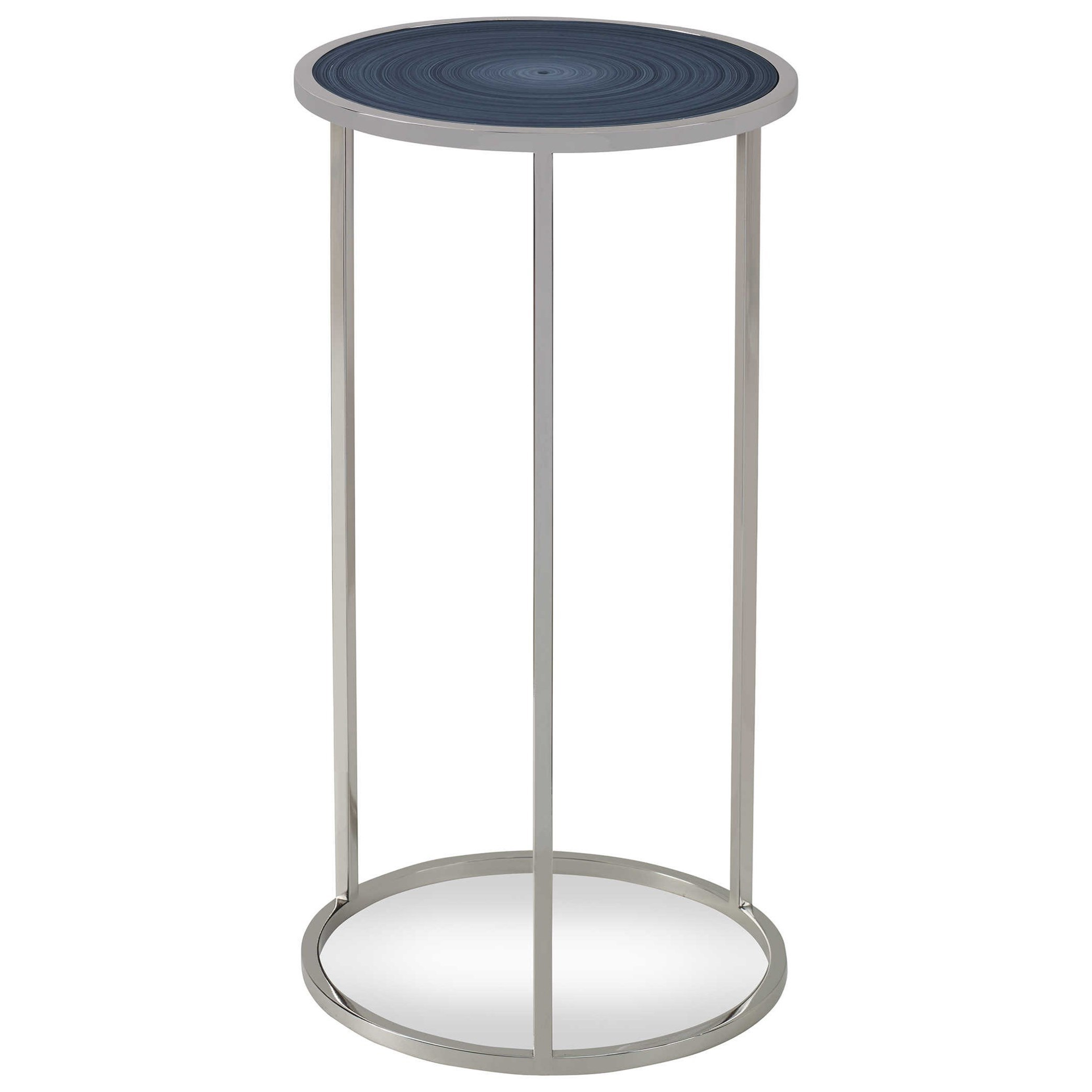 Accent Furniture - Occasional Tables Whirl Round Drink Table by Uttermost at Mueller Furniture