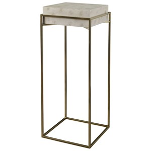 Inda Modern Ivory Plant Stand