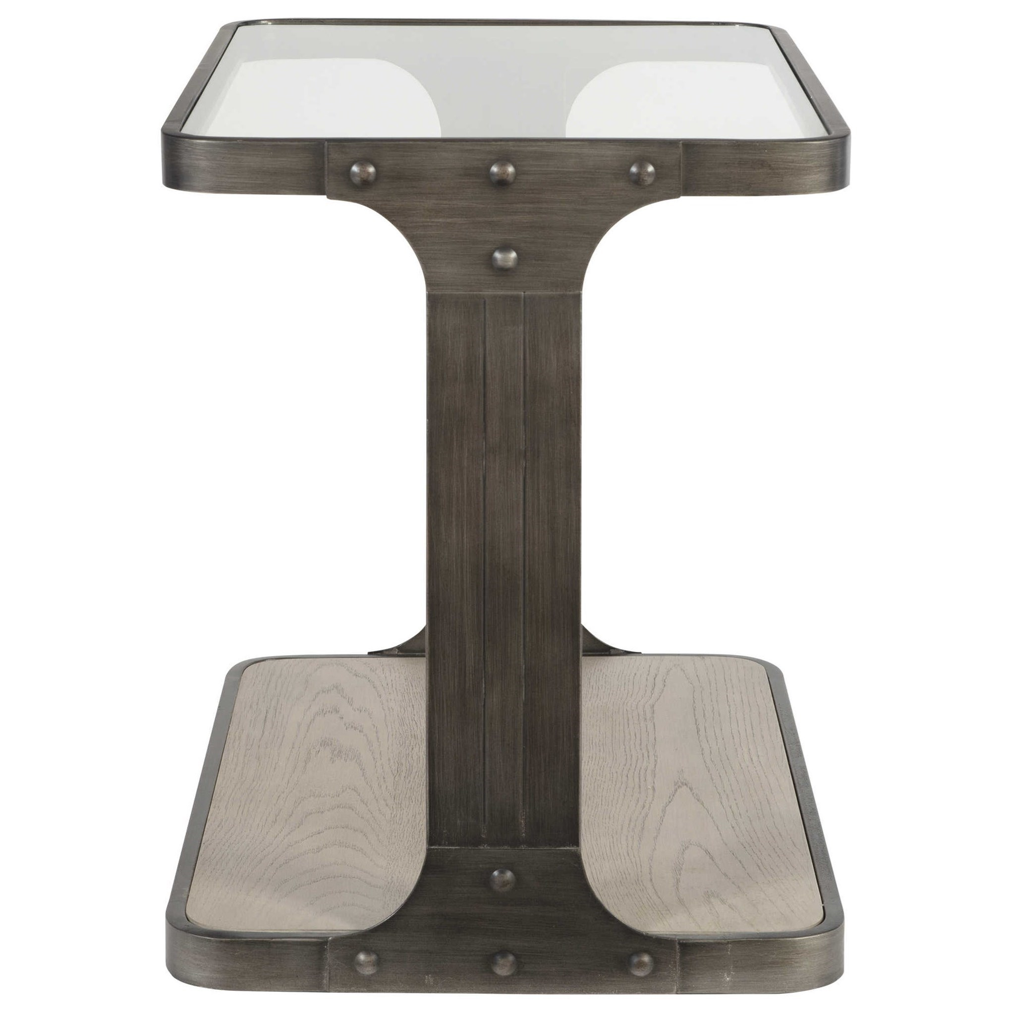 Accent Furniture - Occasional Tables Compton Industrial Side Table by Uttermost at Dunk & Bright Furniture