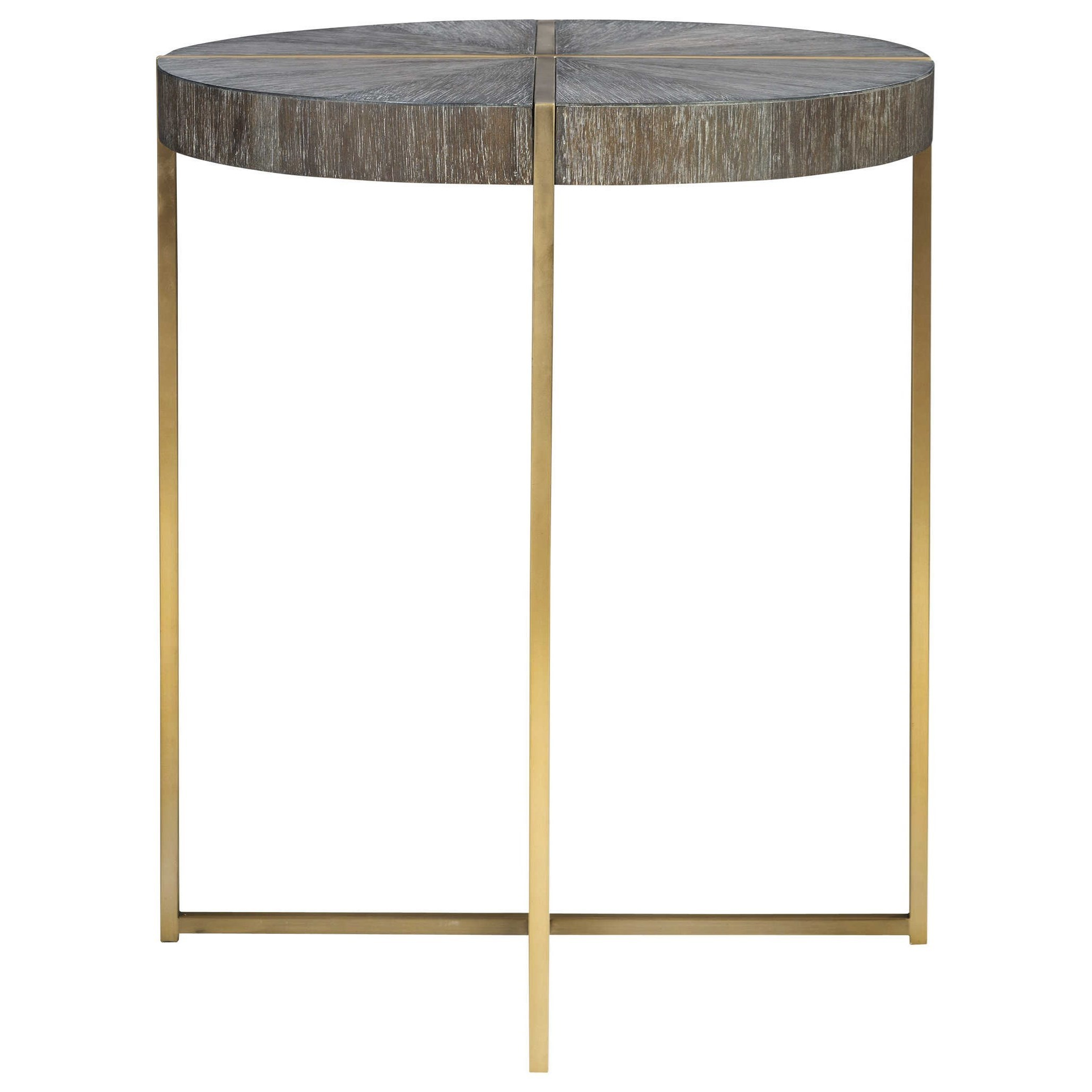 Accent Furniture - Occasional Tables Taja Round Accent Table by Uttermost at Upper Room Home Furnishings