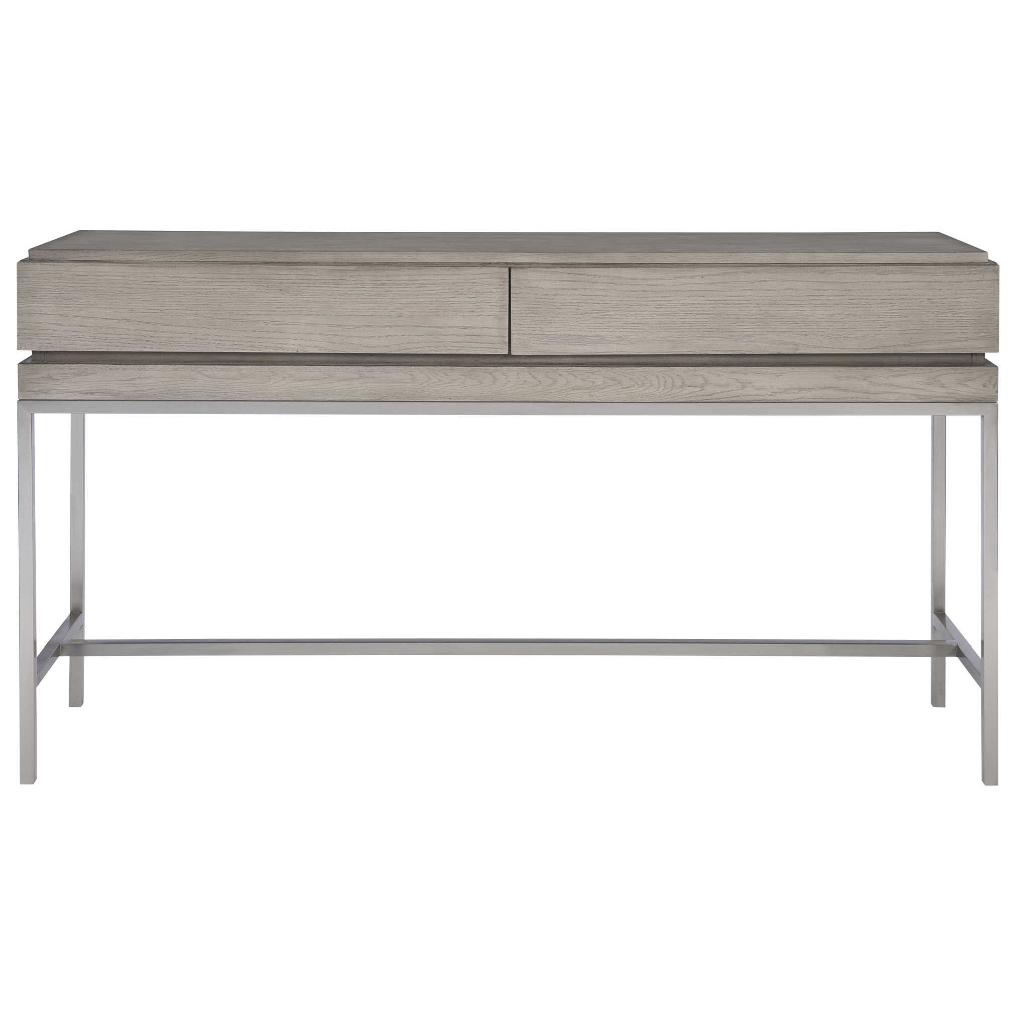 Accent Furniture - Occasional Tables Kamala Gray Oak Console Table by Uttermost at Upper Room Home Furnishings