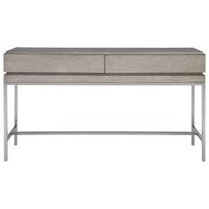 Kamala Gray Oak Console Table