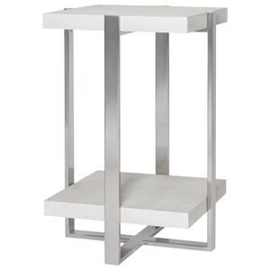 Arnaut White Accent Table
