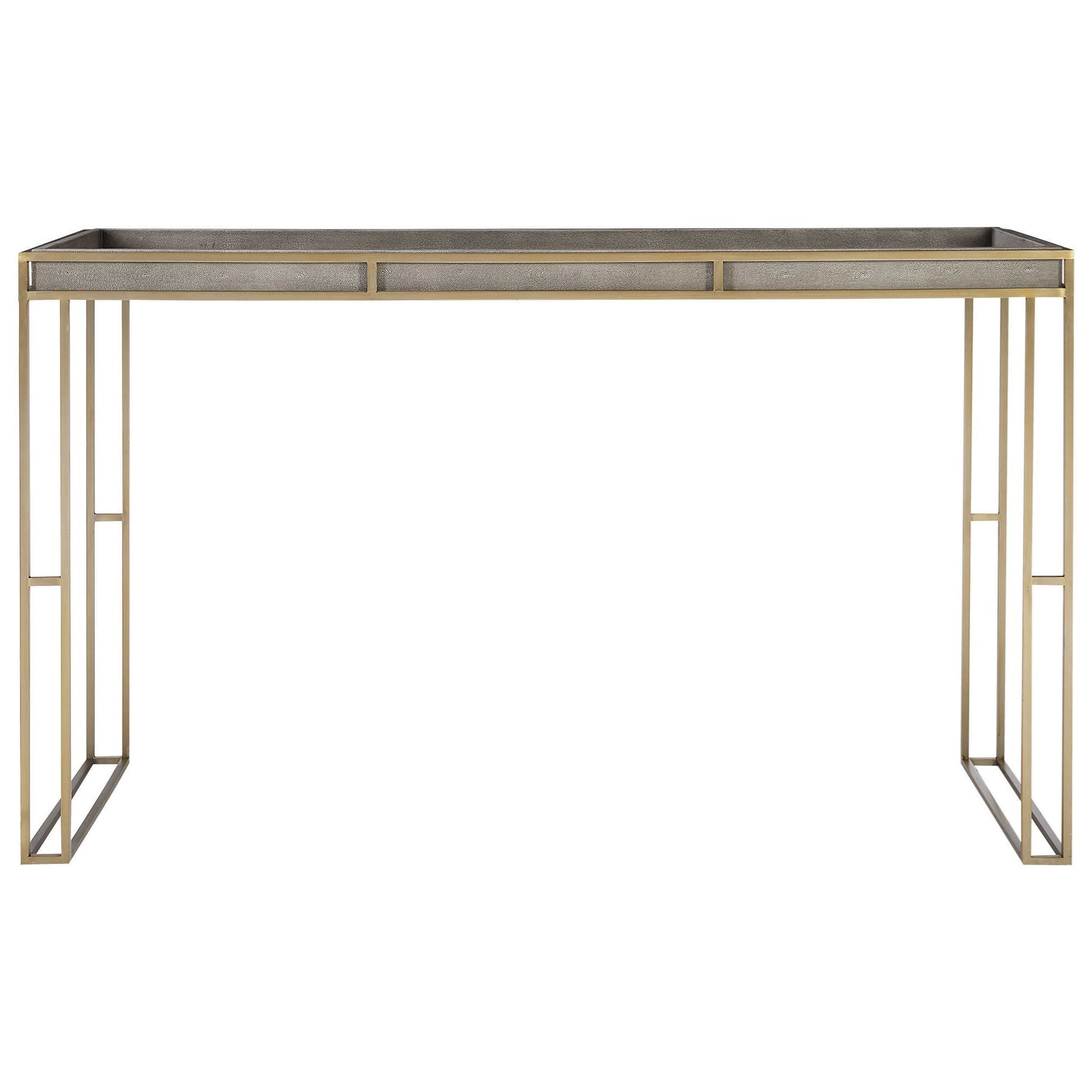 Accent Furniture - Occasional Tables Cardew Modern Console Table by Uttermost at Upper Room Home Furnishings