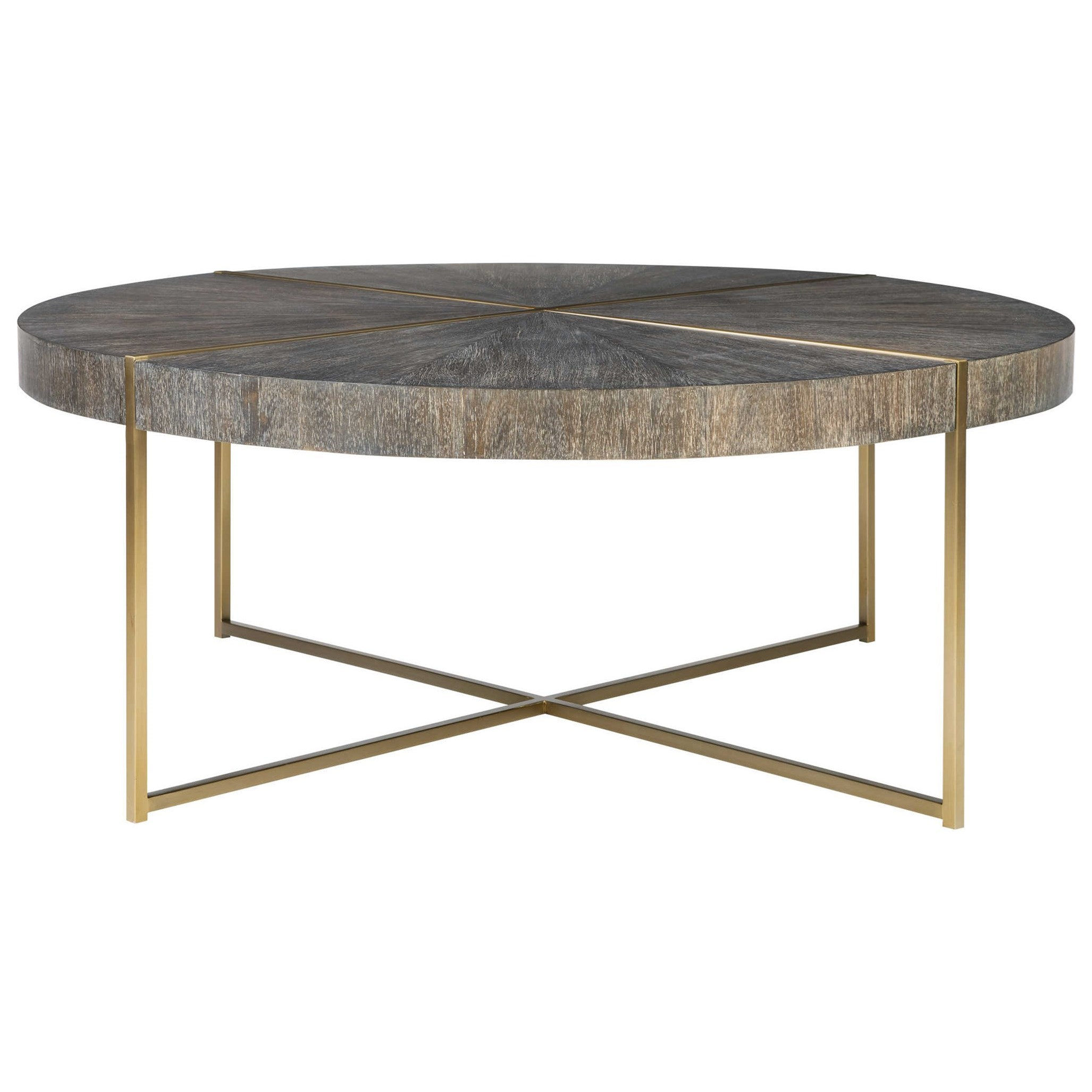 Accent Furniture - Occasional Tables Taja Round Coffee Table by Uttermost at Upper Room Home Furnishings