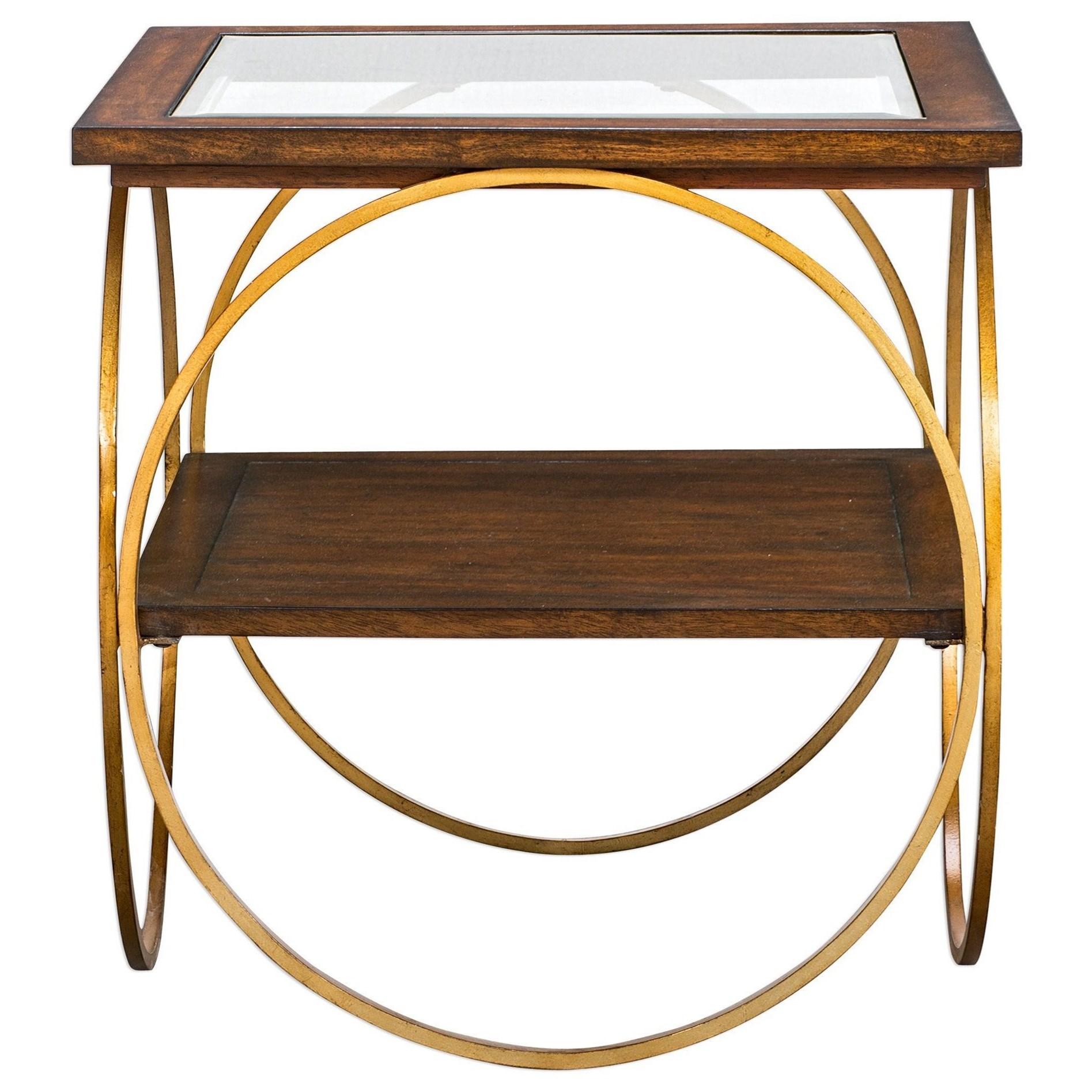 Calissa Wood End Table