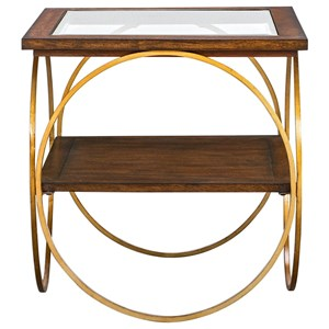 Calissa Wood End Table