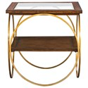 Uttermost Accent Furniture - Occasional Tables Calissa Wood End Table - Item Number: 25401