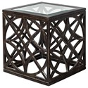 Uttermost Accent Furniture - Occasional Tables Janeva Side Table - Item Number: 25431
