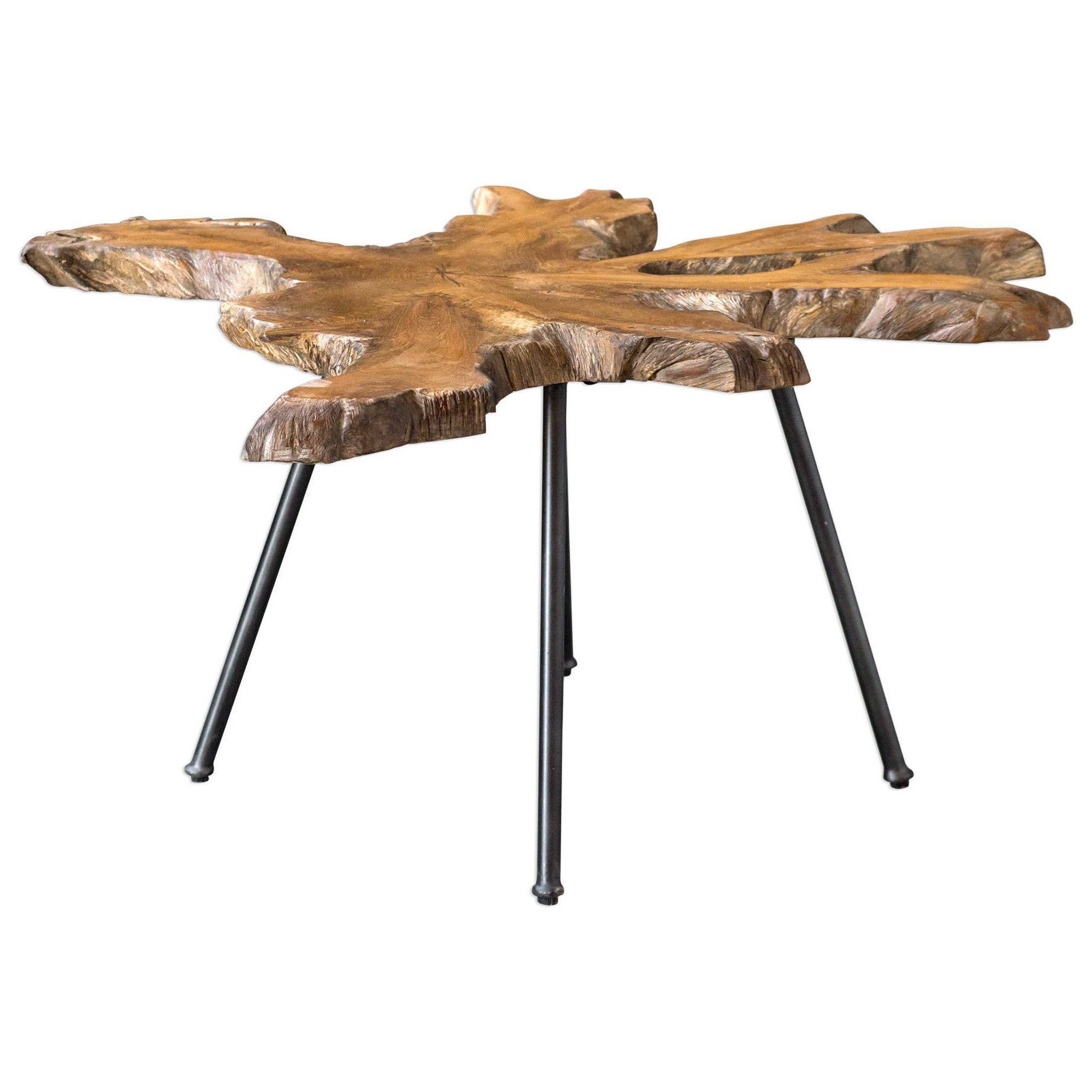 Accent Furniture - Occasional Tables Kravitz Accent Table by Uttermost at Dunk & Bright Furniture